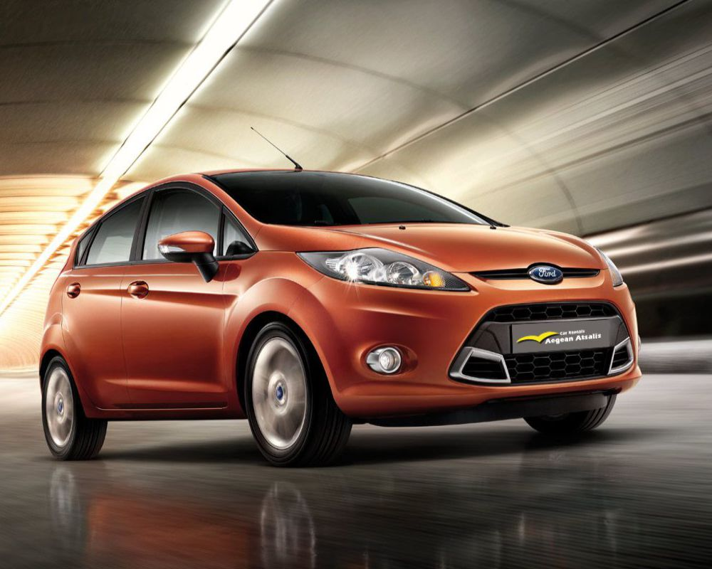 ford fiesta chios rent a car