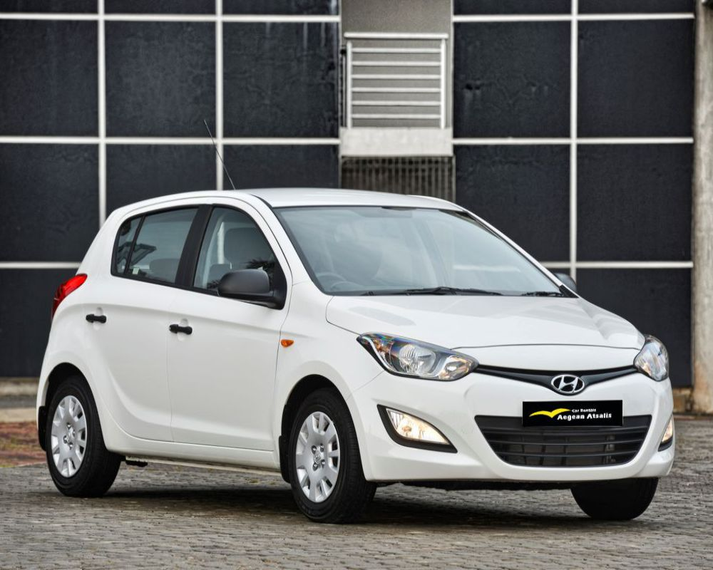 hyundai I20 rent a car chios