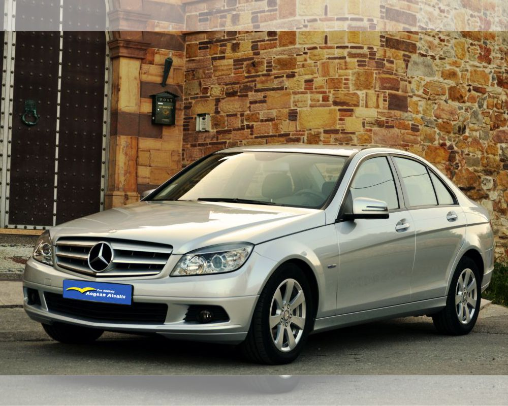 mercedes rent a car chios