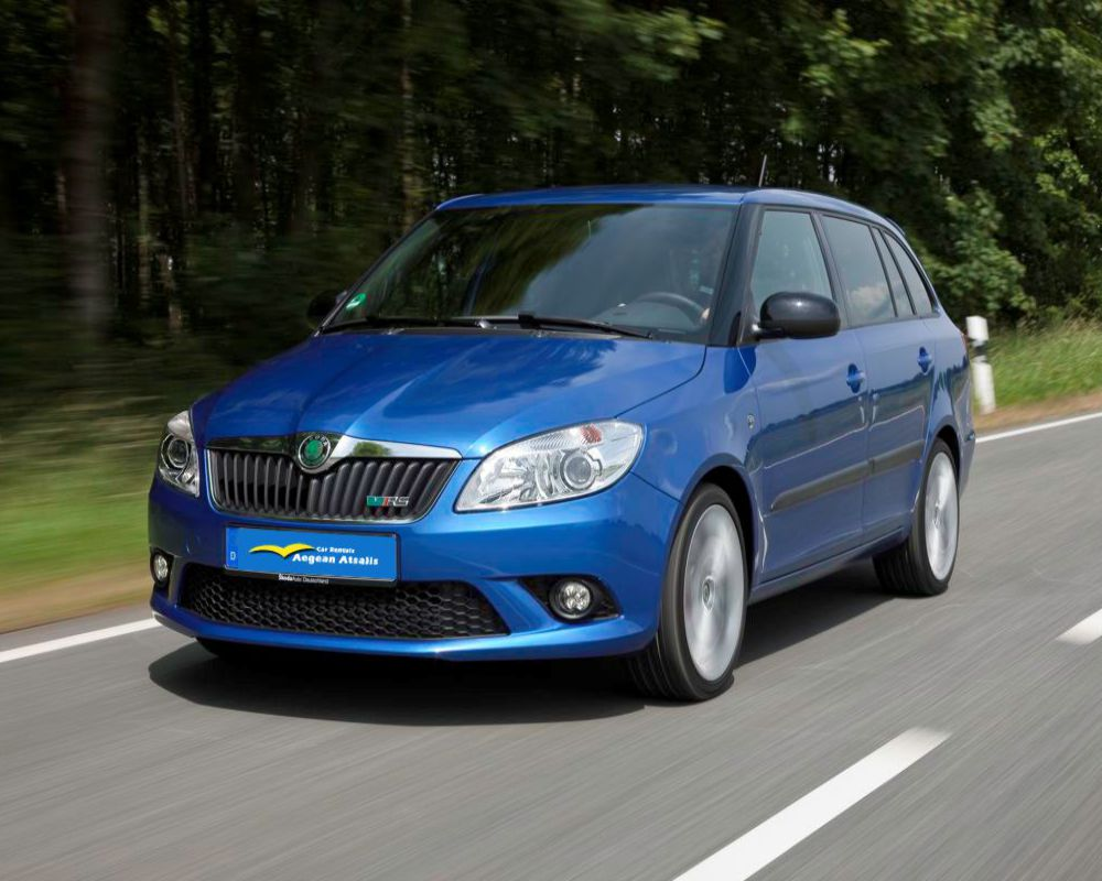 skoda fabia rent a car chios