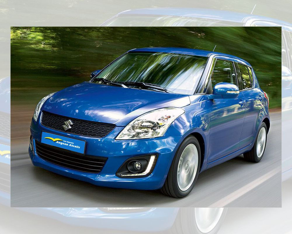 suzuki swift rent a car chios