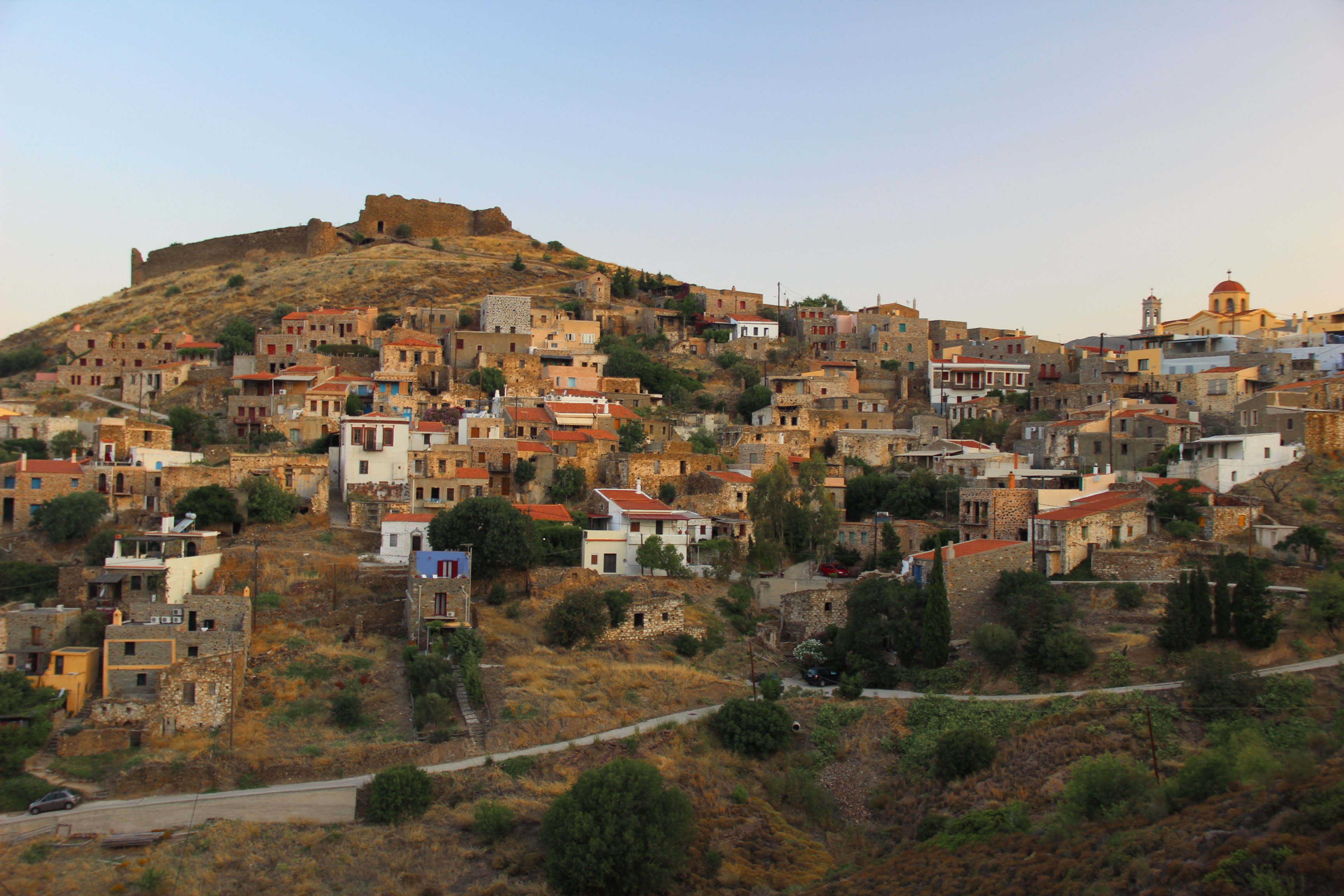 volissos village chios rent a car