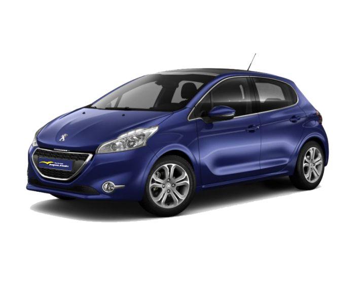Peugeot 208 rent a car in chios aegean atsalis