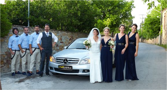 Luxury car for wedding