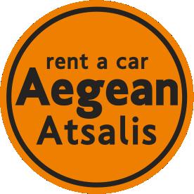 logo 2018 aegean atsalis rent a car chios